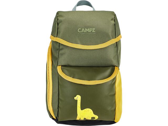 CAMPZ Mochila Niños, Dino grey/yellow